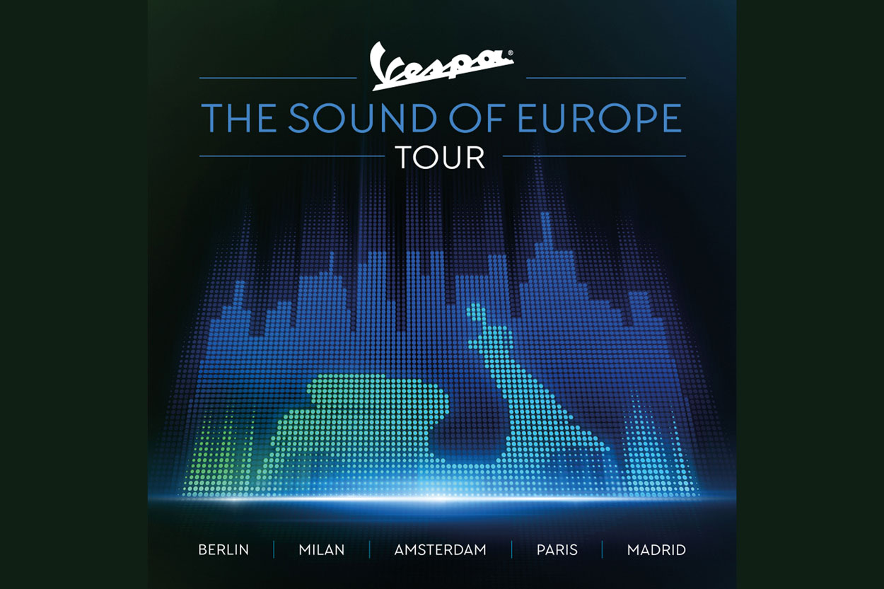 Vespa The Sound of Europe Tour