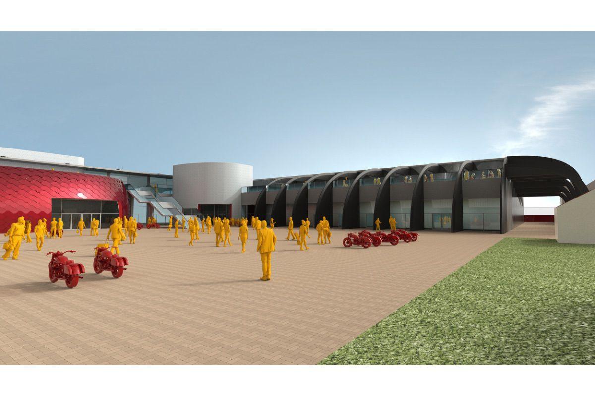 Moto Guzzi: así serán la nueva fábrica y museo de Mandello