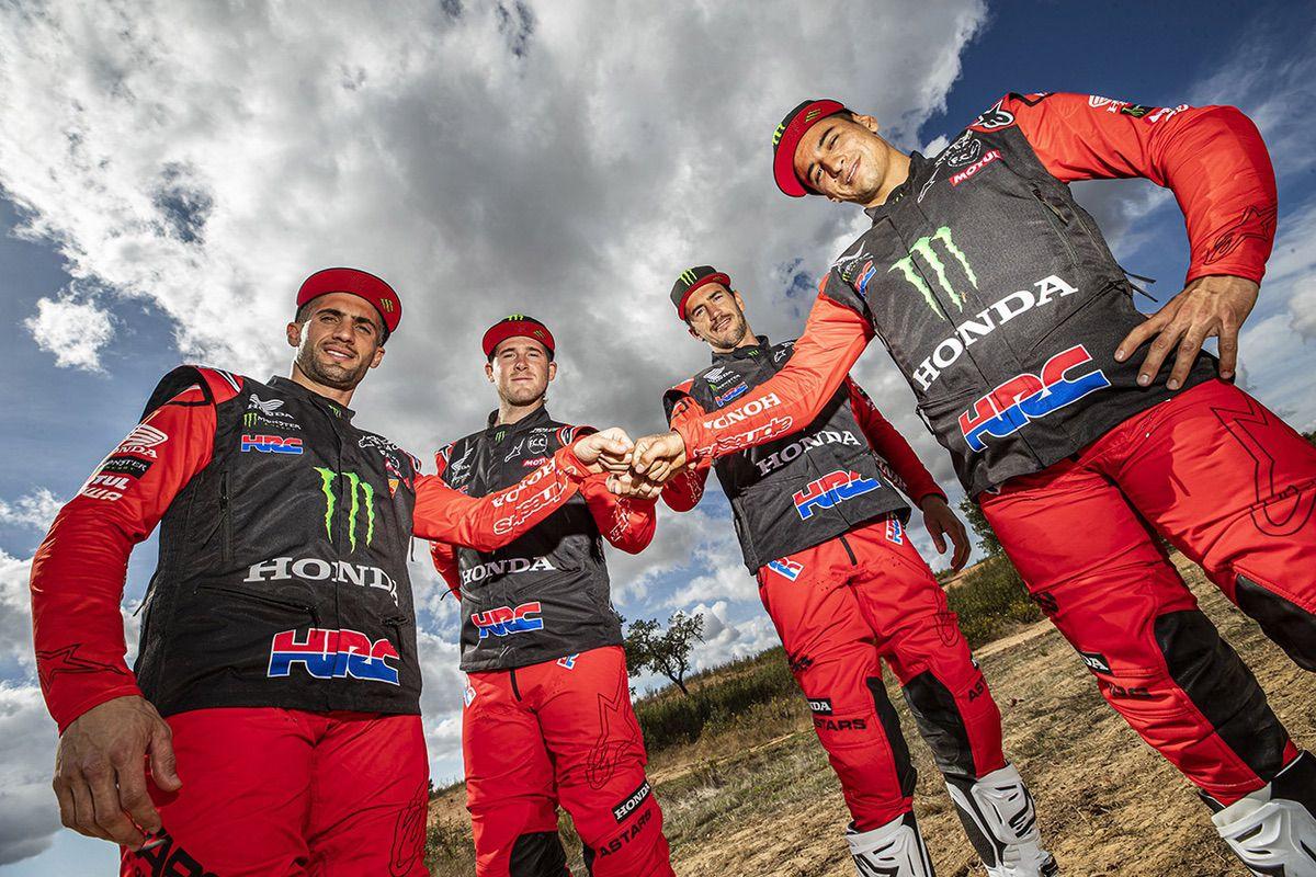 Monster Energy Honda Team 2021
