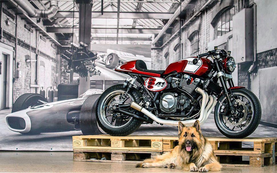 Una Yamaha XJR1300 espectacular
