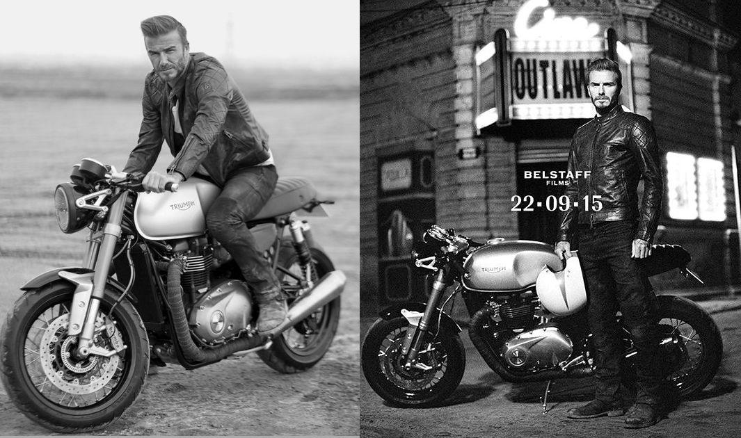 La nueva Triumph Bonneville 1100 y David Beckham