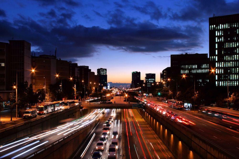 Barcelona tráfico