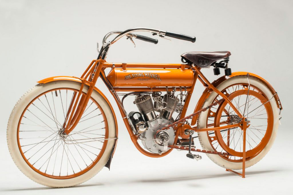 Flying Merkek Twin, una de las primeras motos deportivas de 1911