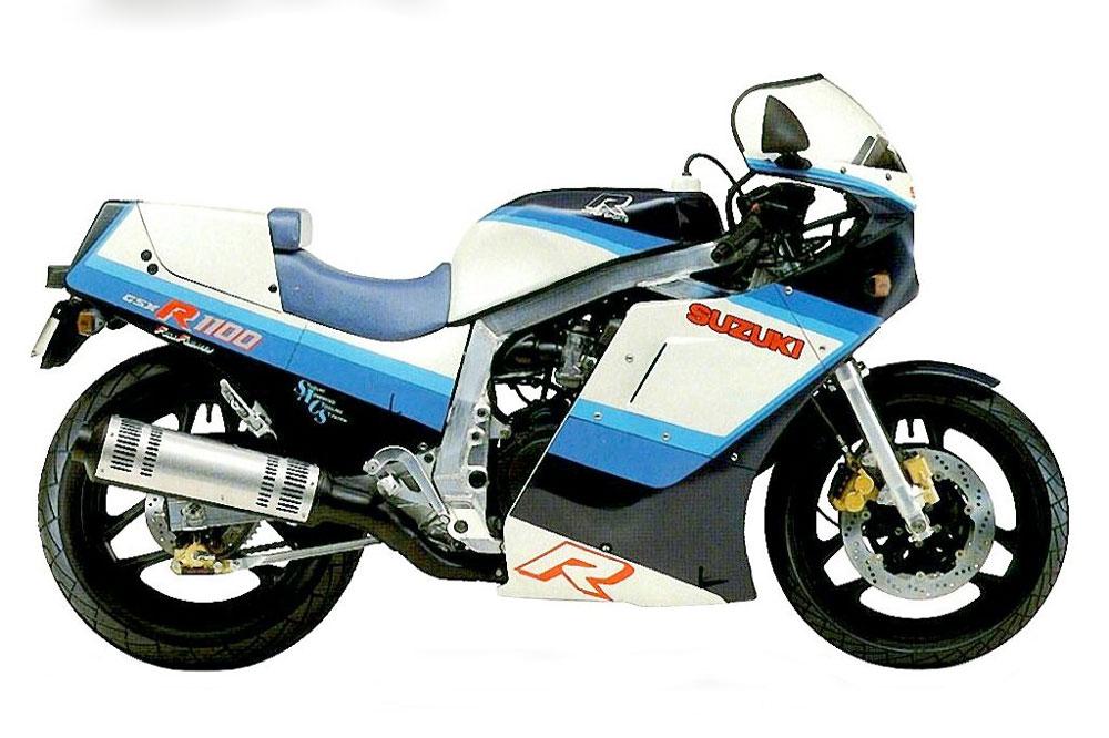 Suzuki GSX-R 1100 de 1986