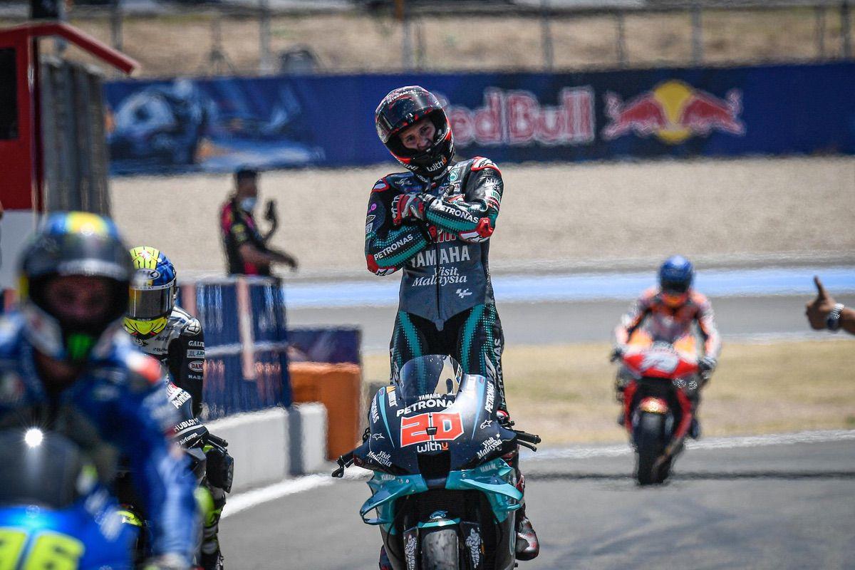 Quartararo vence en Jerez