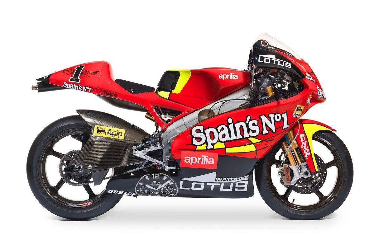 Aprilia RSW 250 Jorge Lorenzo