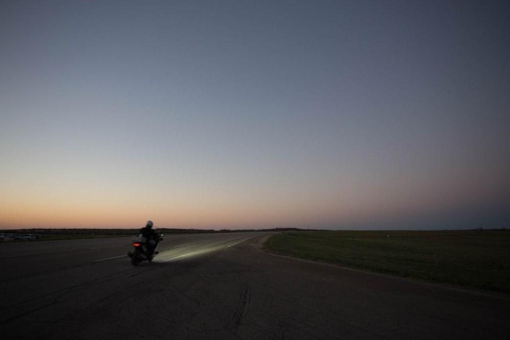 Récord Continental 24 horas distancia moto