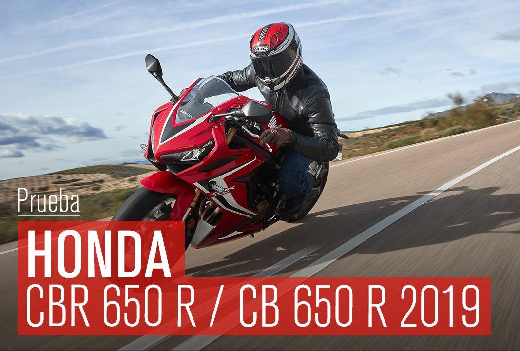 Prueba Honda CBR 650 R