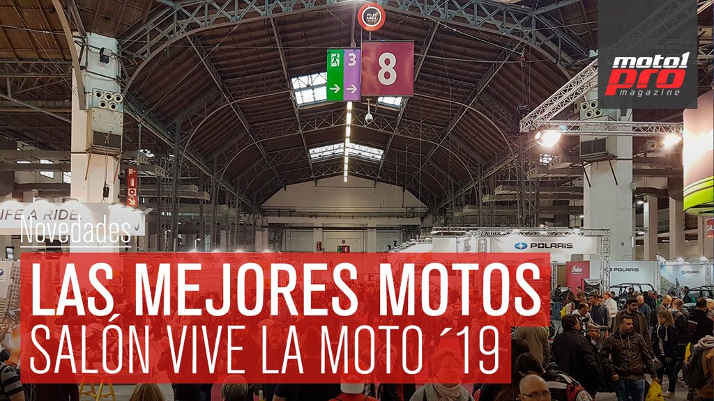 Las mejores motos del salon vive la moto de Barcelona 2019