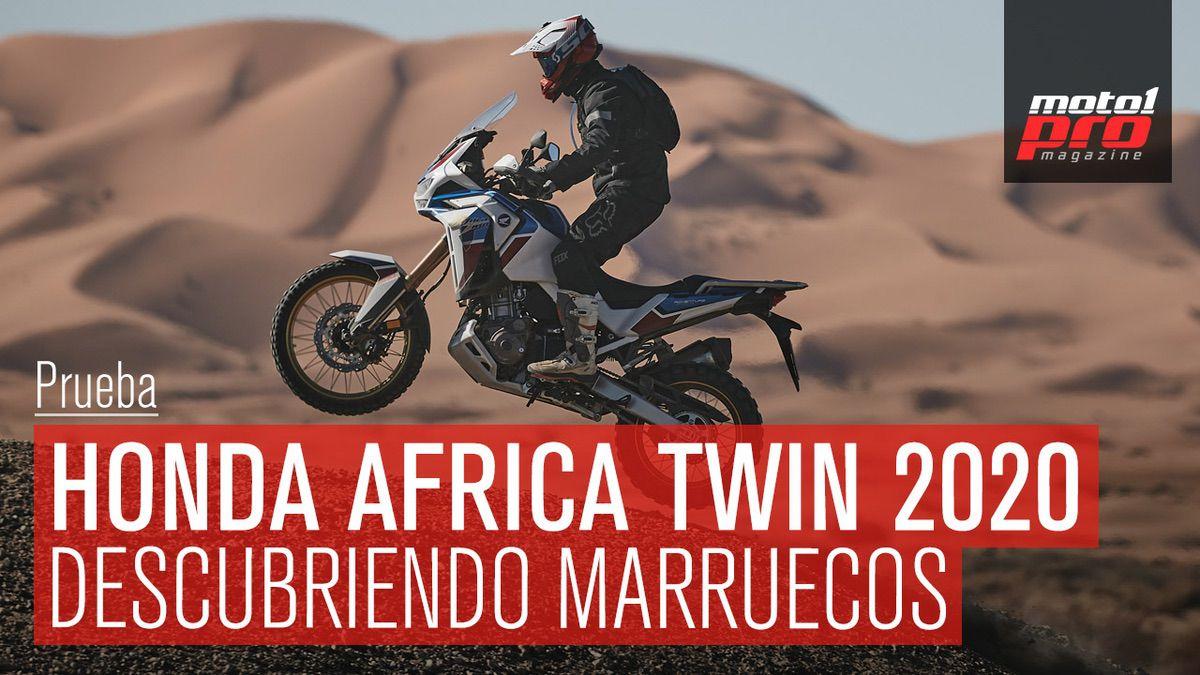 Prueba honda africa twin