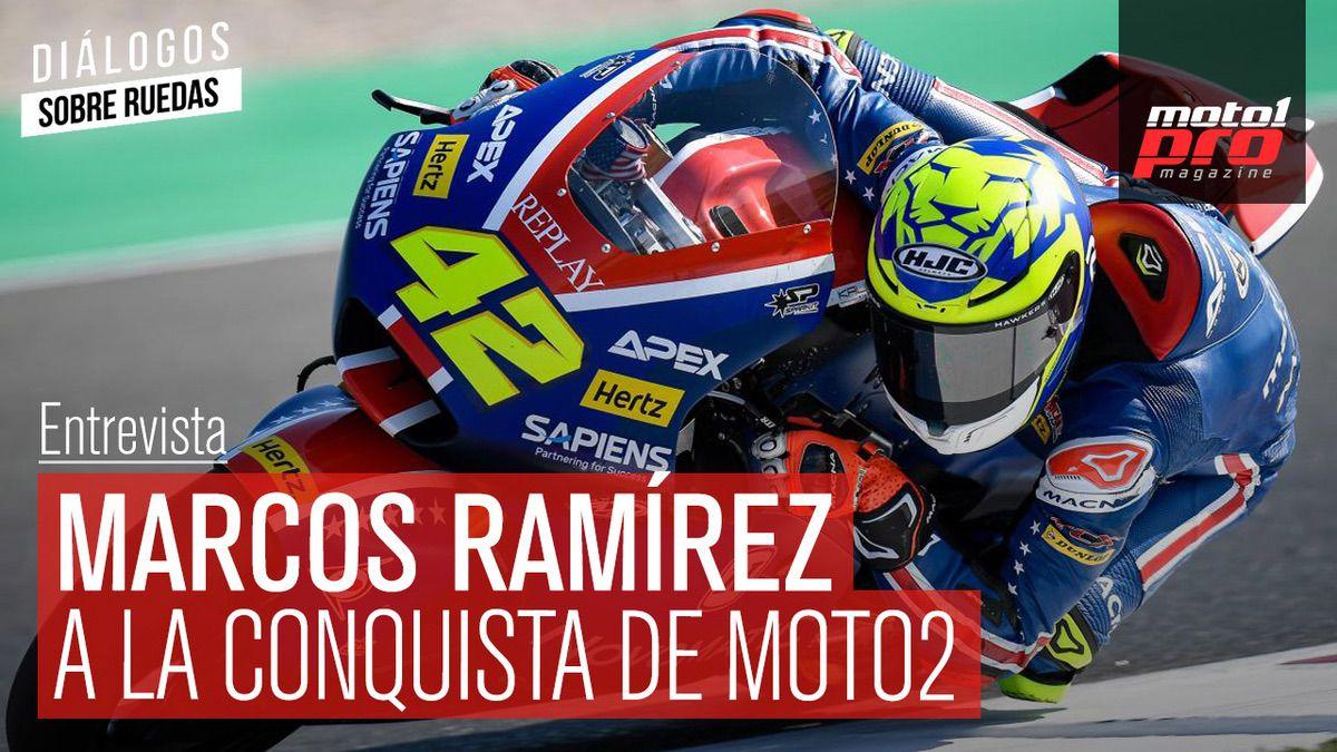 Marcos Ramírez, piloto de Moto2