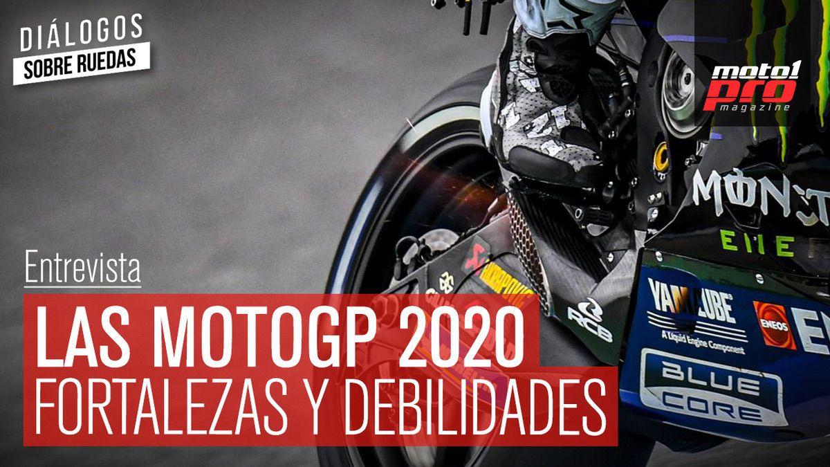 Las motos de MotoGP 2020