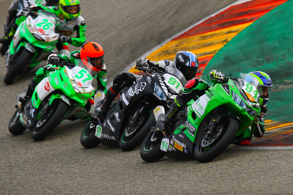 Fin de semana de trabajo intenso para el Kawasaki Palmeto PL Racing Team