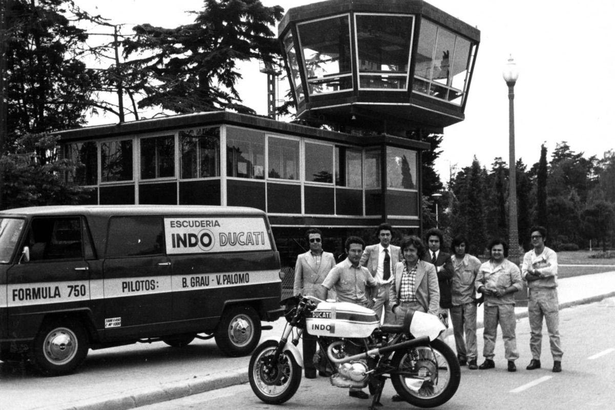 24 Horas de Montjuch 1974: Grau, Cañellas y Ducati