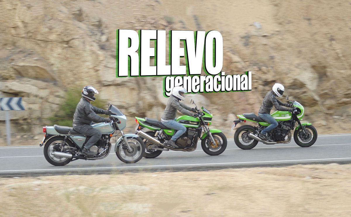 Kawasaki Z900RS, Kawasaki ZRX 1200R, Kawasaki Z1r
