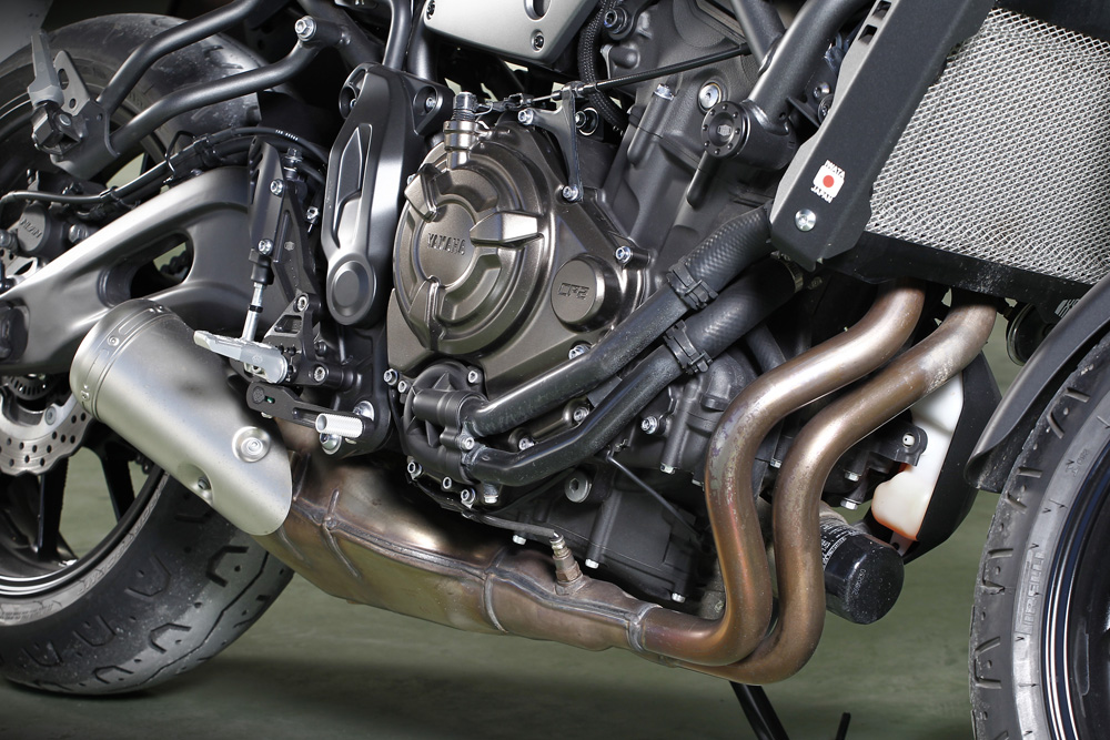 Motor Yamaha XSR 700