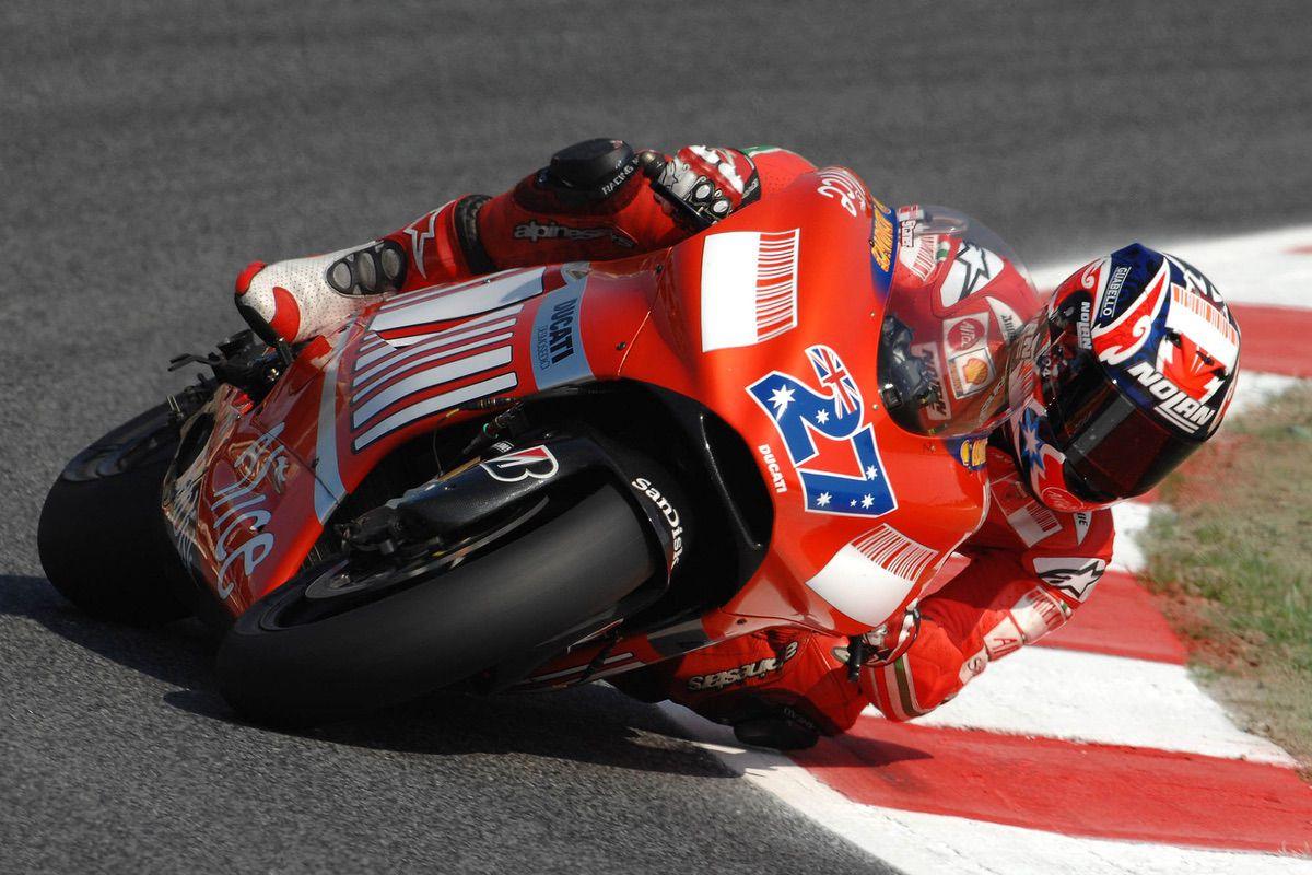 Casey Stoner en Ducati 2007