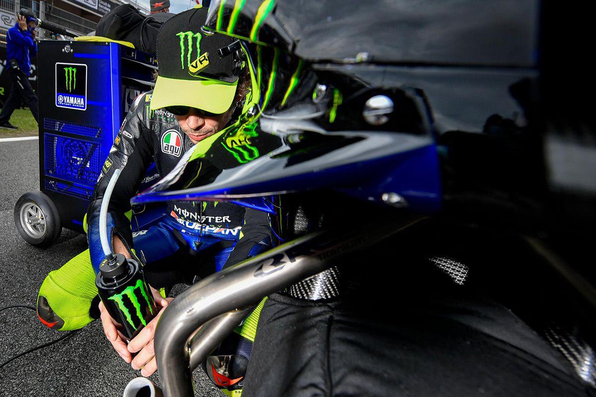 Valentino Rossi será baja en Aragón por Covid-19