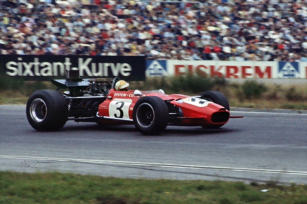 Mike Hailwwod F1