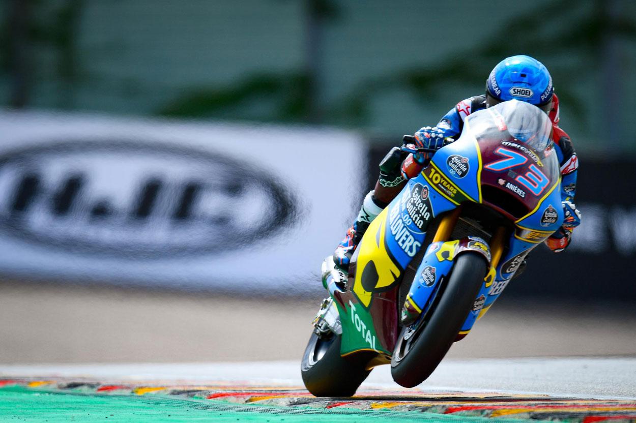Alex Márquez logra la victoria en Moto2 en el GP de Alemania