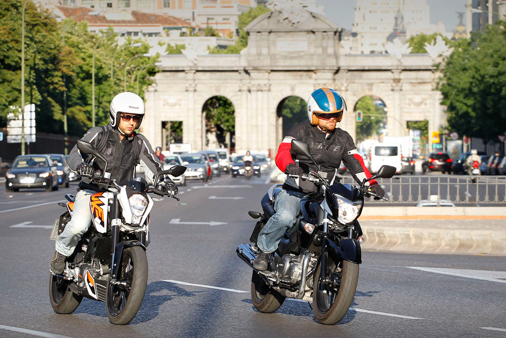 Madrid restringirá la circulación a las motos en casos de alta contaminación