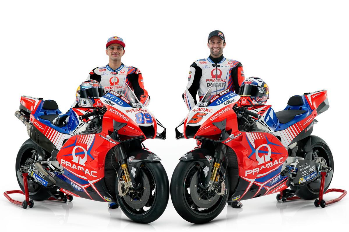 Jorge Martín y Johan Zarco se enfrentan a un nuevo reto en el Pramac Racing