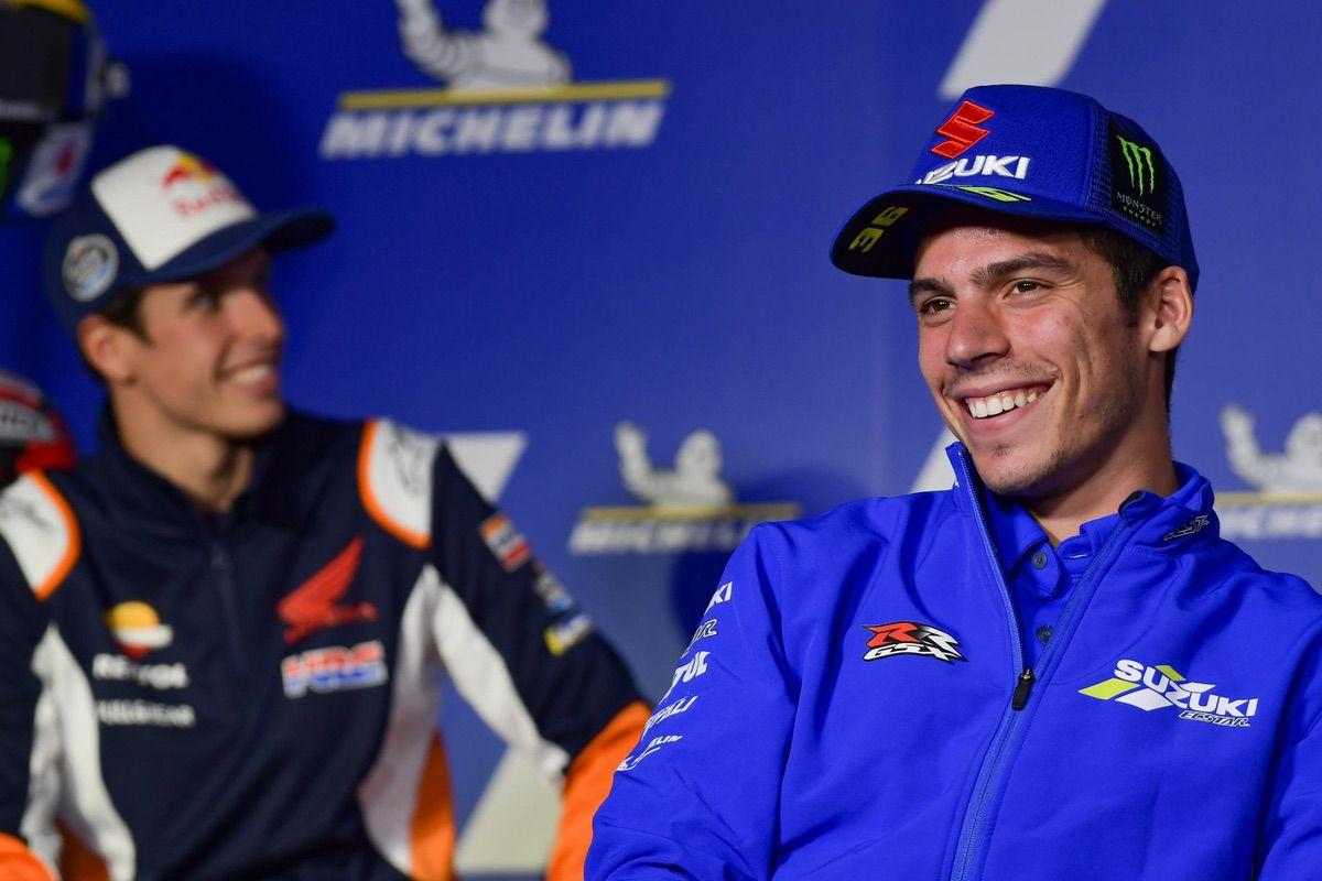Rins gana el GP de Aragón, Márquez repite y Mir lidera el mundial