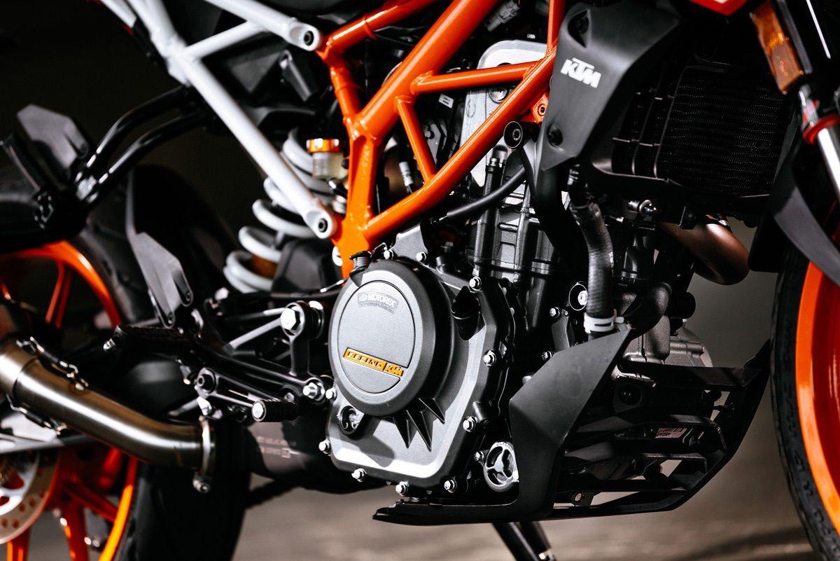 KTM Duke chasis