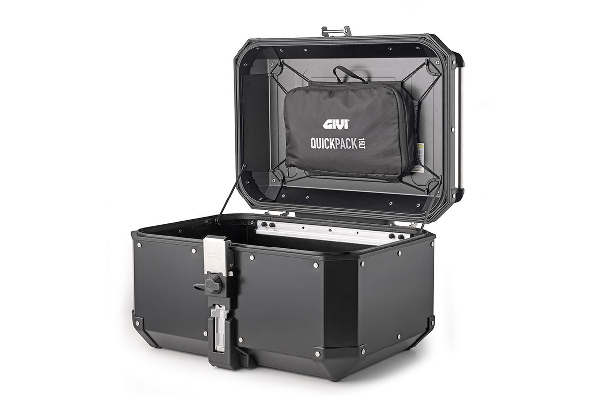 Nueva colección de complementos Givi para maletas de viaje