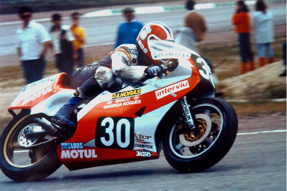 Historia del motociclismo: La doble victoria de Cobas