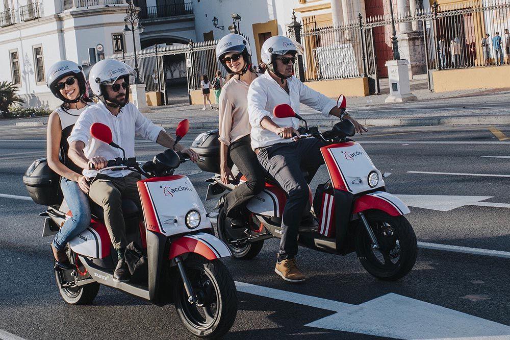 Acciona motosharing Sevilla