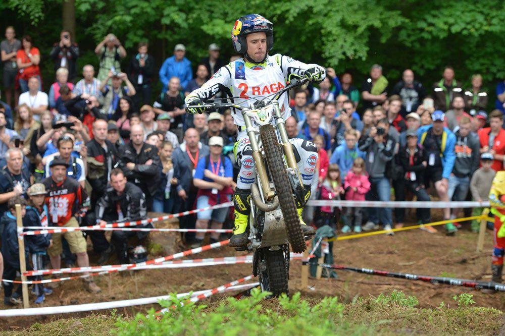 Adam Raga es segundo en el Mundial de Trial