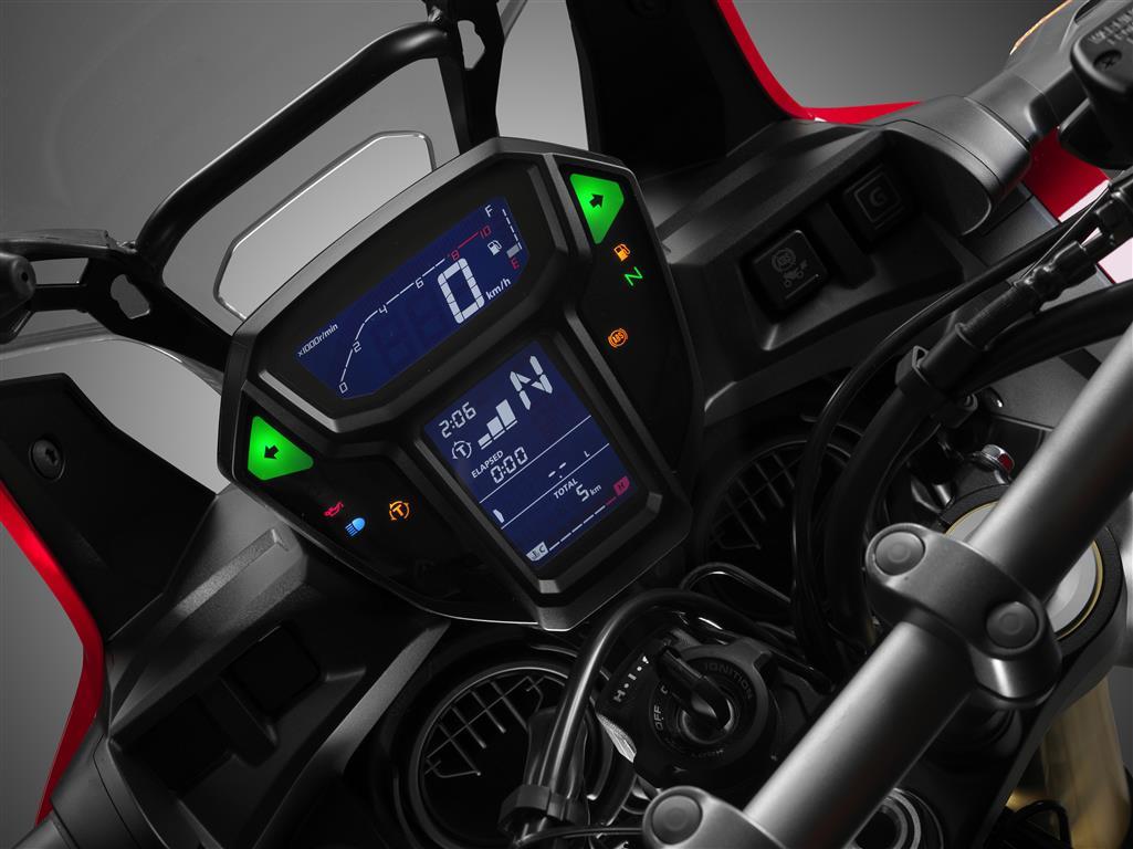 Honda Africa-Twin instrumentacion