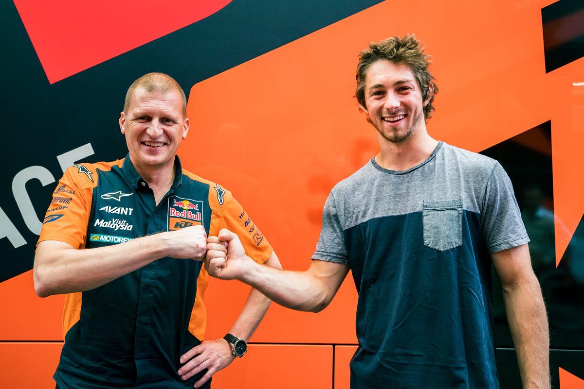 Remy Gardner firma con el Red Bull KTM Ajo para 2021