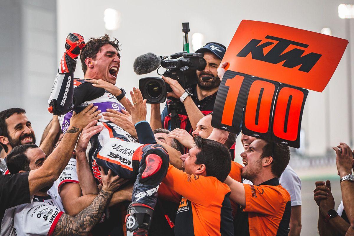 Albert Arenas, victoria en Moto3 en el GP de Qatar