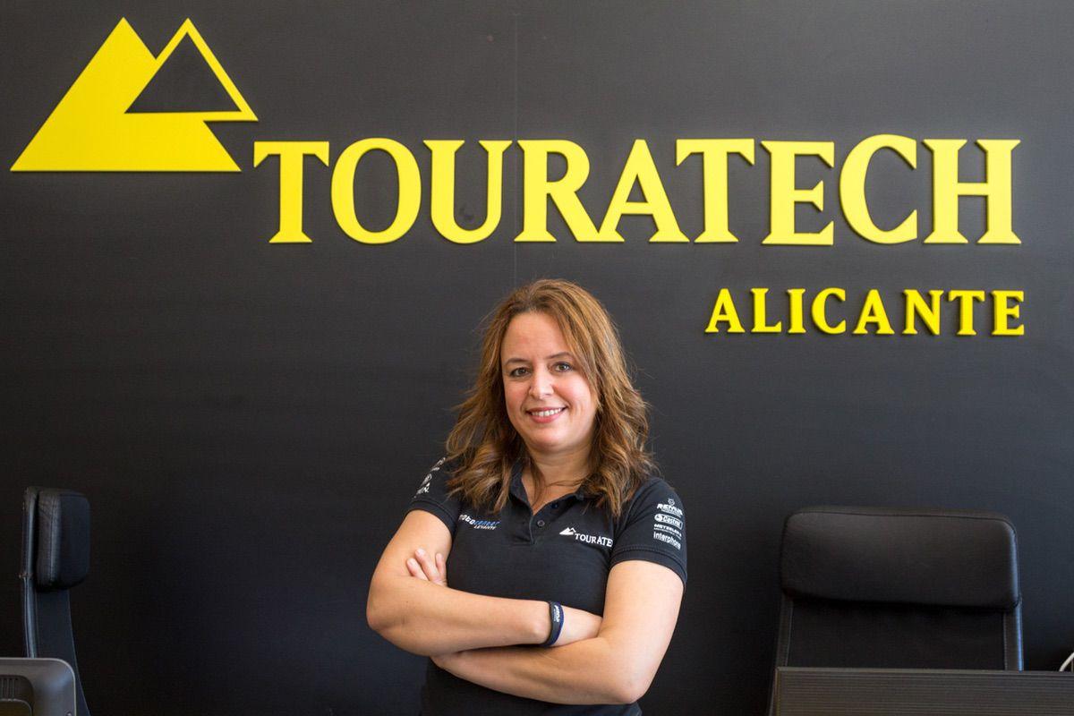 Alessandra Brito es directora de operaciones de Touratech España