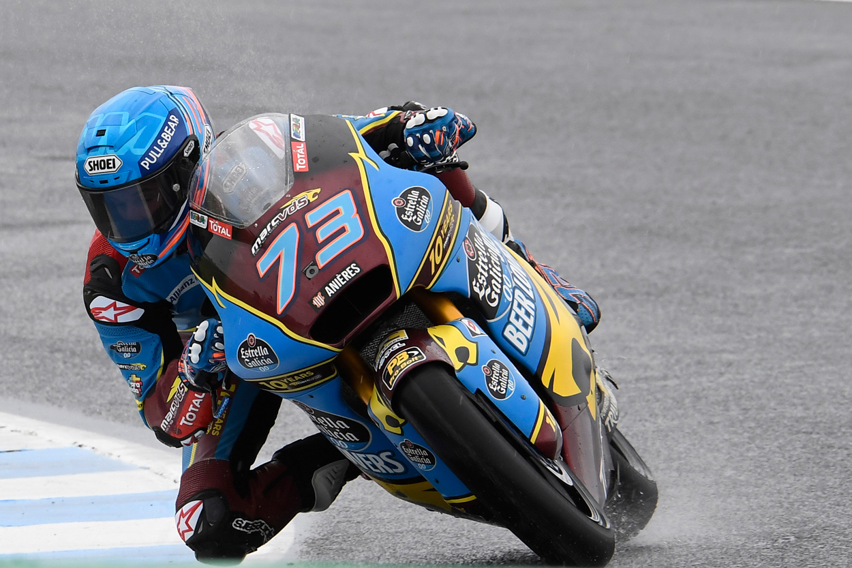 Alex Márquez tendrá que sufrir un poco si quiere lograr su título de Campeón del Mundo de Moto2