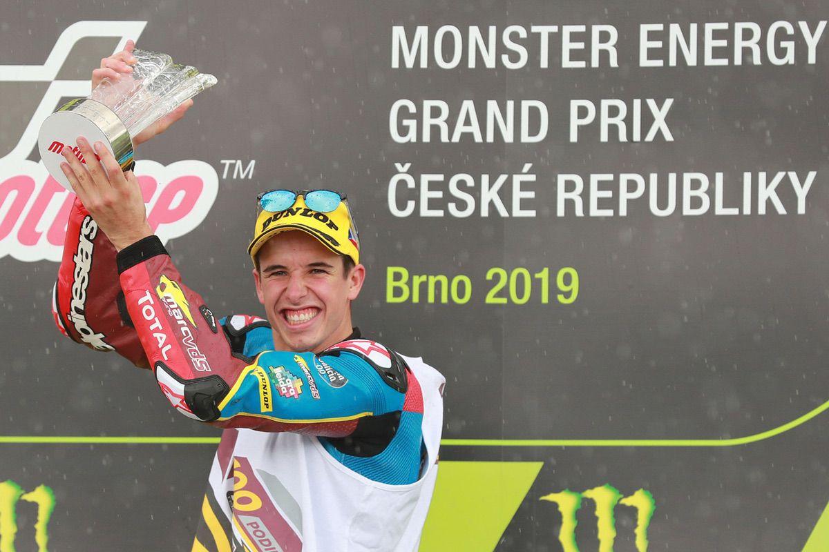 Victoria de Alex Márquez en el GP de República Checa