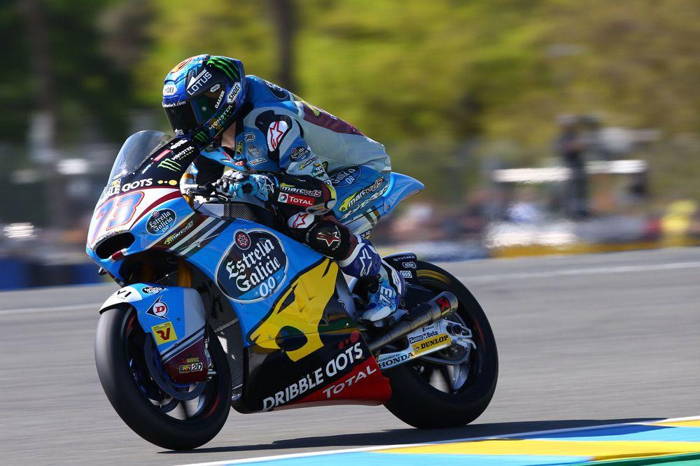 Nueva caída de Alex Marquez en Moto2 en el GP de Francia