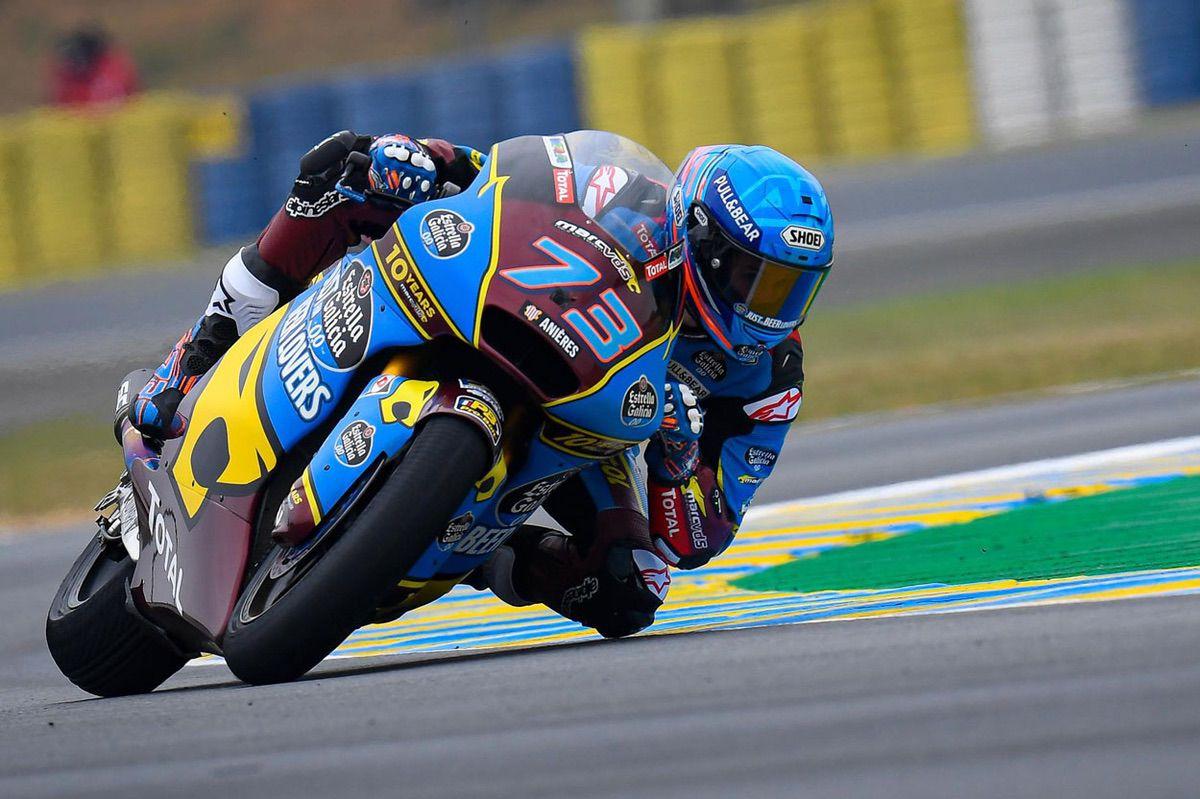 Alex Márquez, victoria en Moto2 en el GP de Francia 2019