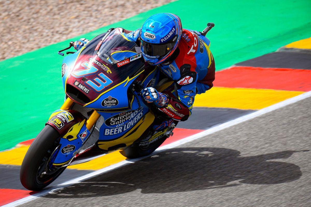 Alex Márquez logra la pole en Moto2 en el GP de Alemania