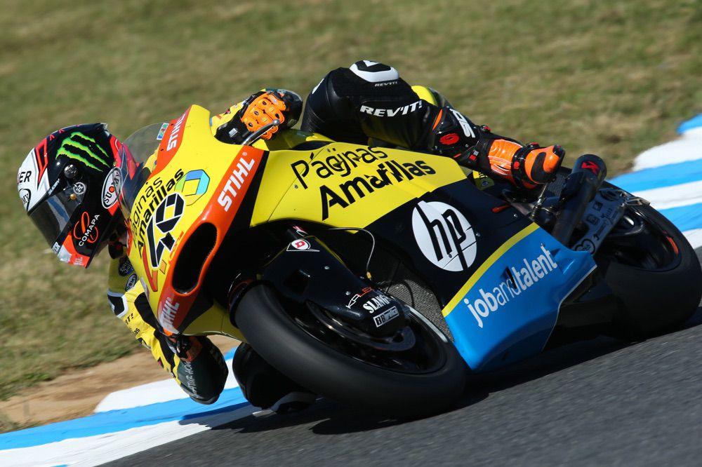 Alex Rins no puntúa en el GP de Japon de Moto2