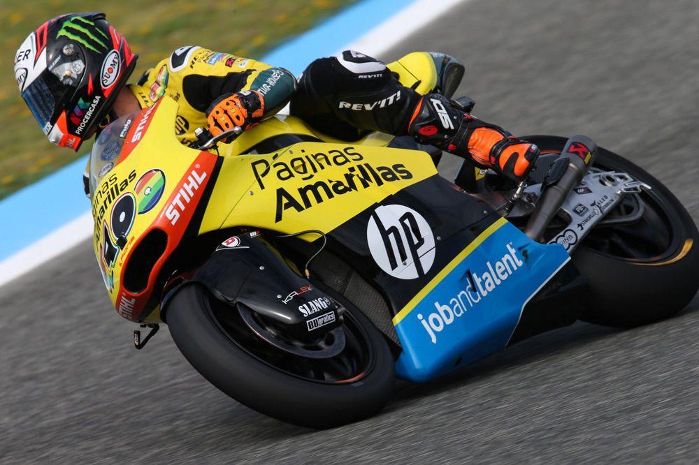 Alex Rins, tercero en Moto2 en el GP Jerez