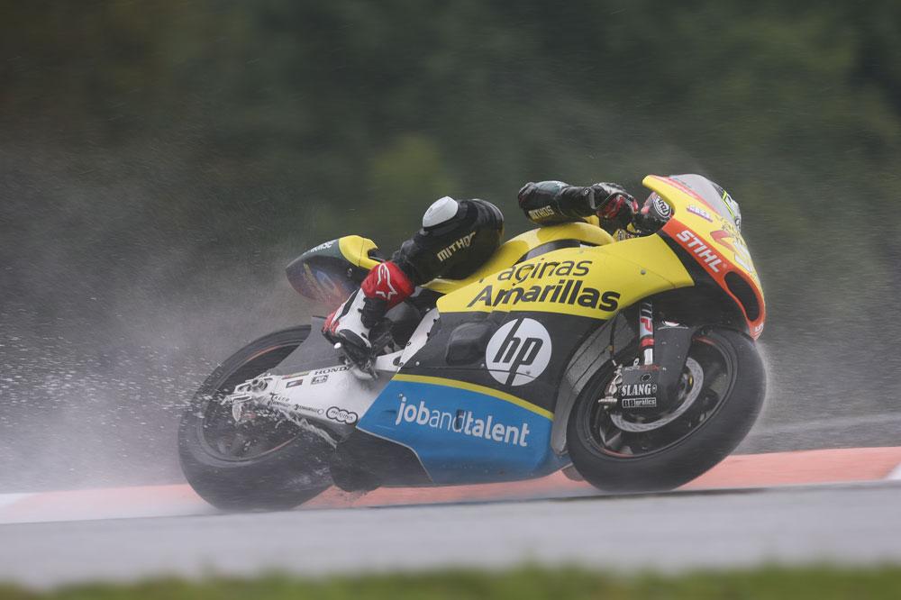 Alex Rins fue segundo en el GP de República Checa