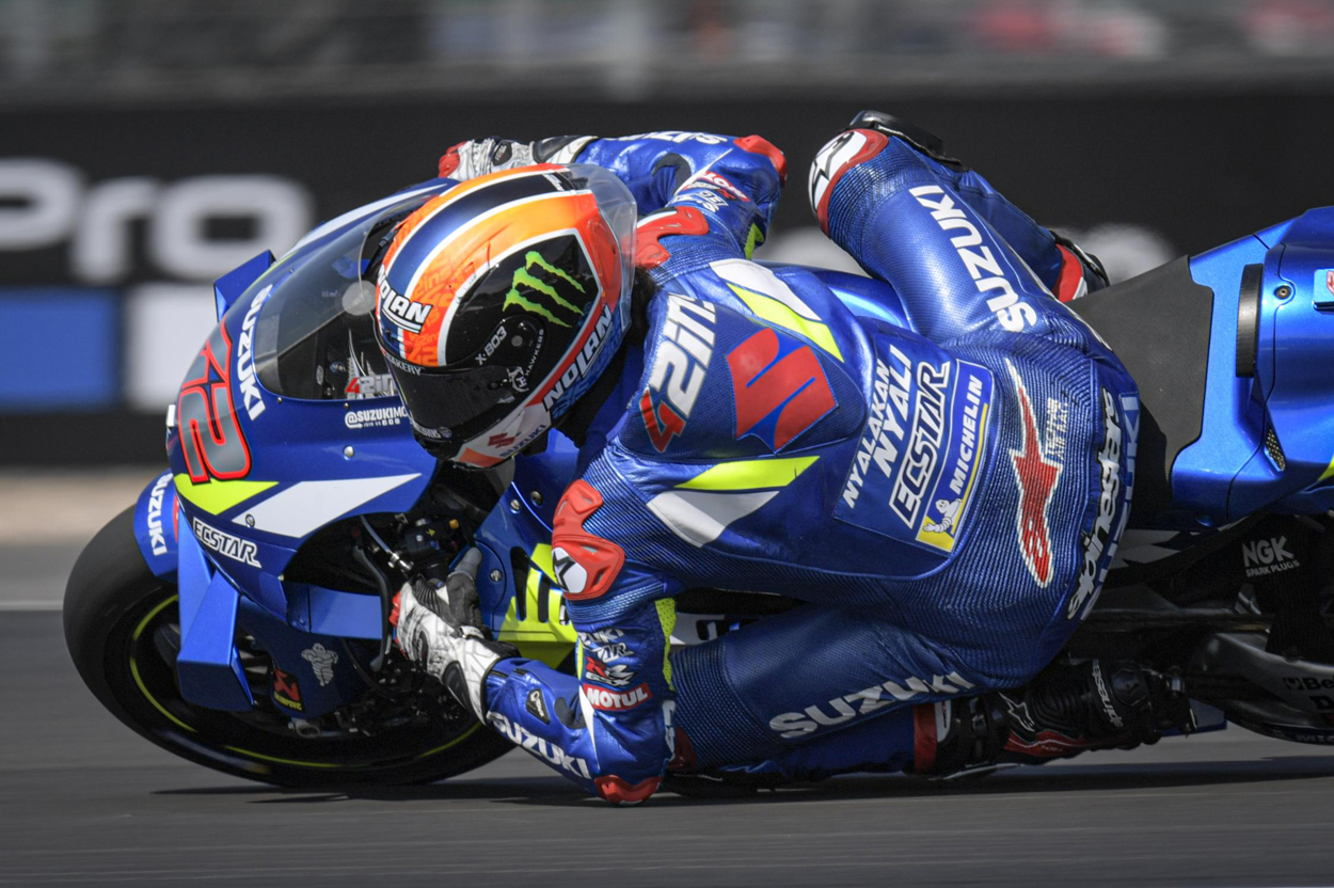 Victoria de Alex Rins en MotoGP en el Gran Premio Gran Bretaña 2019