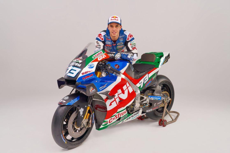 VÍDEO | Álex Márquez presenta al Mundo sus nuevos colores con el equipo LCR Castrol Honda