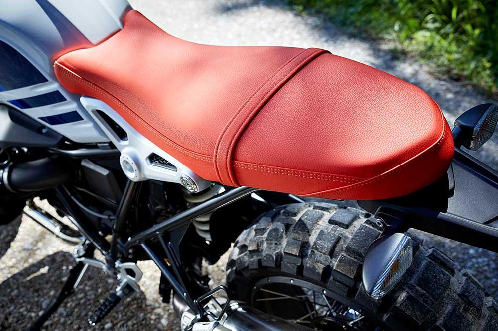 Altura del asiento en moto