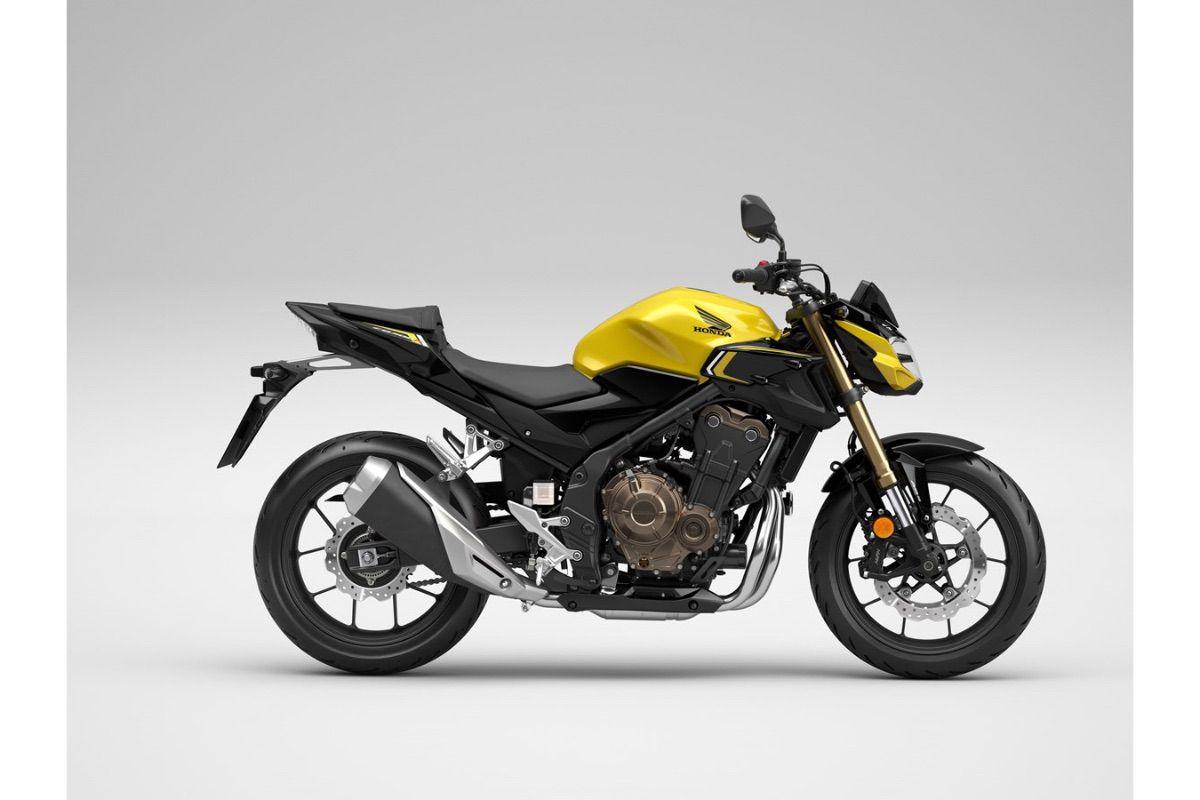 Nuevas Honda CB500F, CBR500R y CB500X 2022 para carnet A2