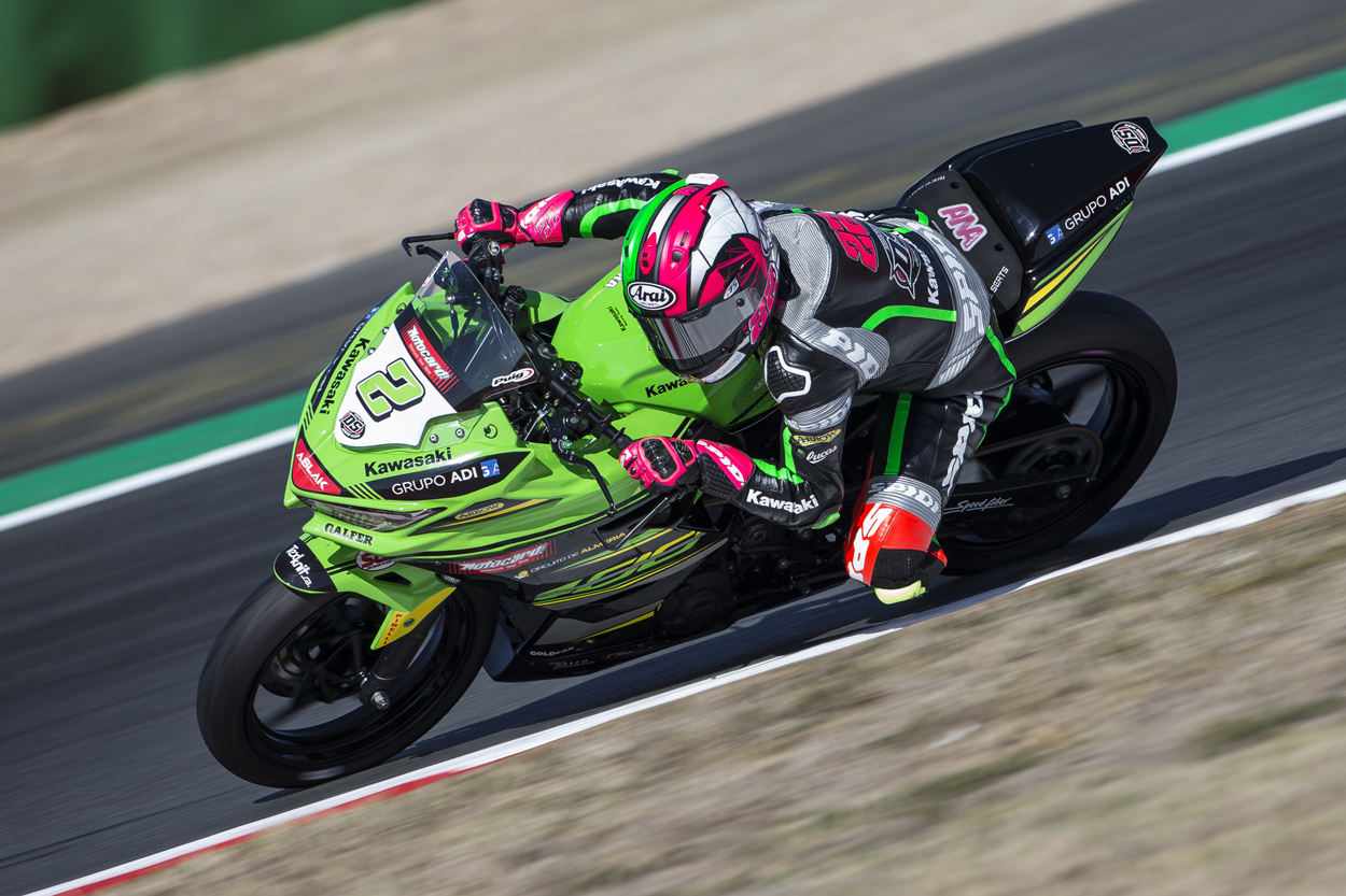 Ana Carrasco, Campeona del Mundo Supersport 300