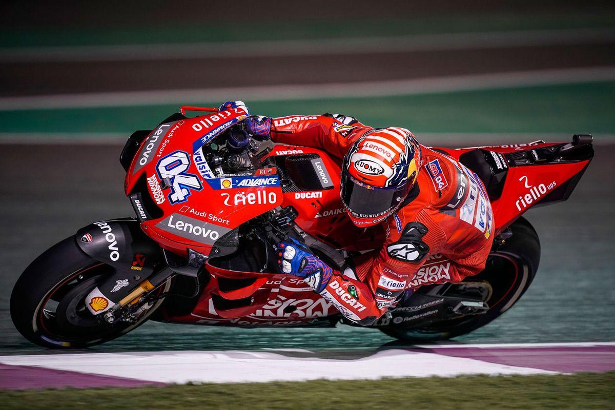 Andrea Dovizioso logra la victoria del Gran Premio de Qatar 2019